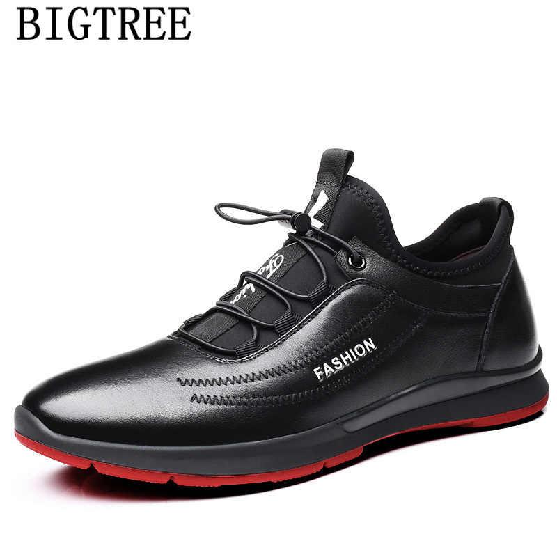 Casual รองเท้าผู้ชายฤดูหนาวรองเท้าหนังผู้ชายรองเท้าผ้าใบสีดำรองเท้ารองเท้าผู้ชายคุณภาพสูงยี่ห้อ zapatos de hombre