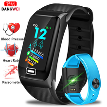 2019 LIGE Smart Bracelet With Heart Rate Blood Pressure Oxygen Oximeter Sport Watch Ring Waterproof Watch Smart For iOS Android