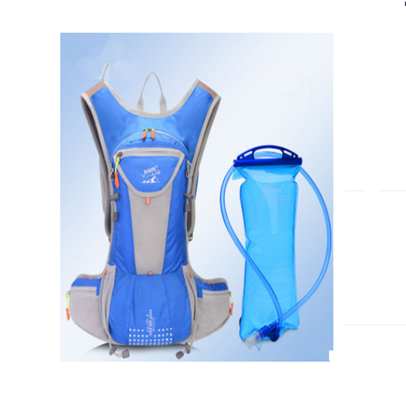 Running Backpack Water Bag 15L Water Bags Mochila Bladder Hydration Hiking Bicycle Bike Bag Sport Camelback cheap sale hydration water bladder bag cleaning tube hose sucker brushes drying rack set