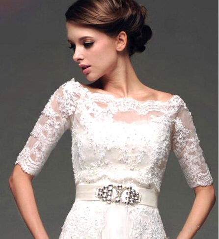 lace wedding shrugs and boleros
