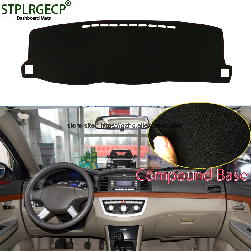 StplrgeCP For lifan 620 doulbe layer Car Dashboard Cover Avoid Light Pad Instrument Platform Dash Board Cover Sticker датчик lifan auto lifan 2