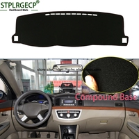 StplrgeCP For Lifan 620 Doulbe Layer Car Dashboard Cover Avoid Light Pad Instrument Platform Dash Board