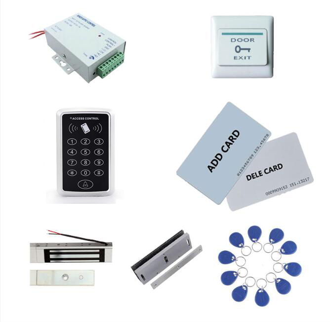 Access control kit,access control+ power+180kg magnetic lock+180kg U-Shape+exit button+2 manage card,10 keyfob ID tags,sn:set-4 manage enterprise knowledge systematically