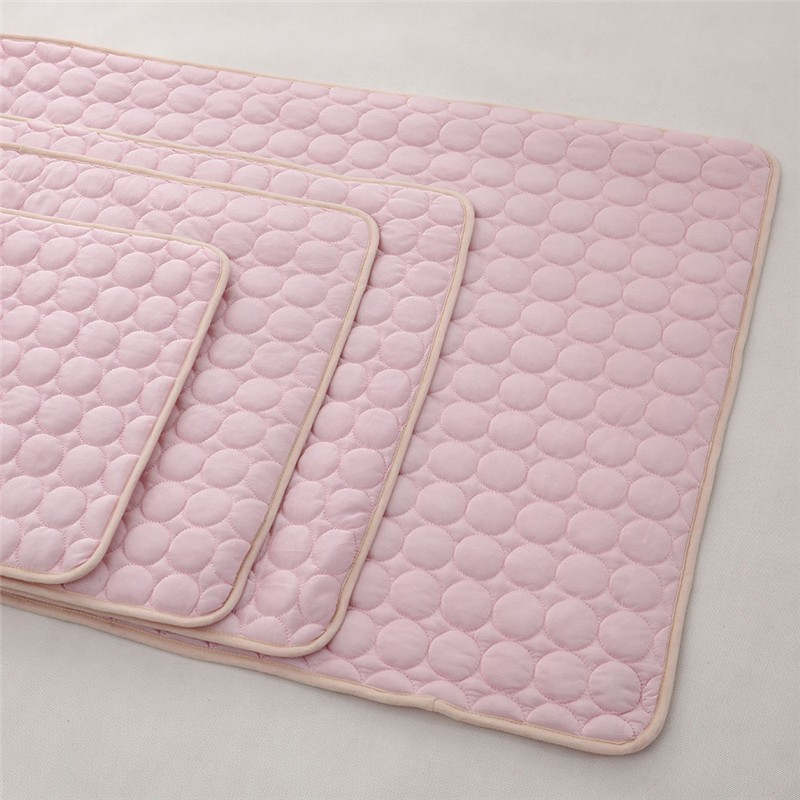 Summer Cooling Mats Blanket Ice Pet Dog Bed Sofa Portable Tour Camping Yoga Sleeping Mats For Dogs Cats Pet Accessories in Houses Kennels Pens from Home Garden