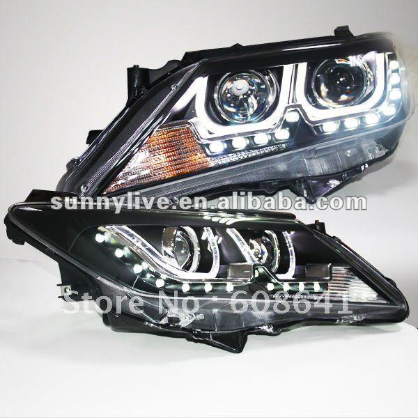 Pro TOYOTA 2012-13 rok Aurion Camry LED U Typ Angel Angel Eyes TLZ V1