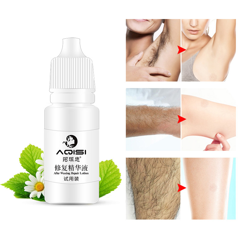 Herbal Permanent Hair Growth Inhibitor After Hair Removal Repair Nourish Essence Liquid ZG88