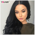 150% Density Pre Plucked 360 Lace Wig With Baby Hair 360 Full Lace Frontal Wig Body Wave Brazilian Full Lace Human Hair Wigs