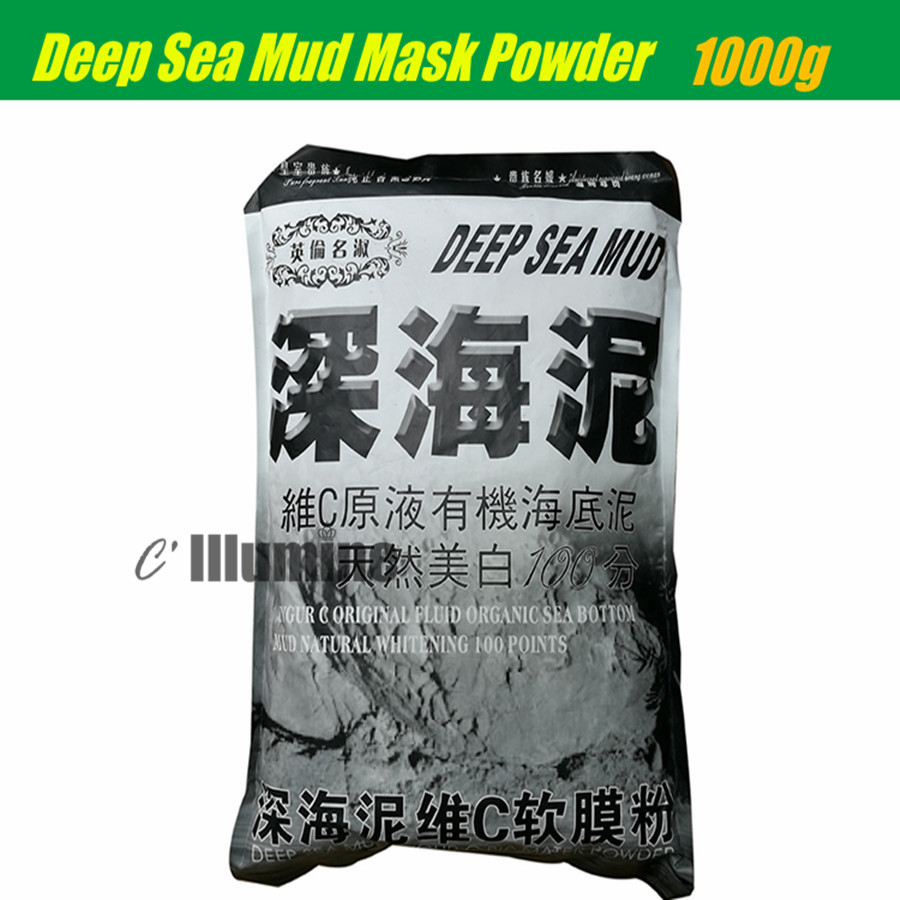 Deep Sea Mud Mask Powder  Vitamine C Organic Soft Membrane Powder Natural Whitening 1000g Beauty Salon the zone