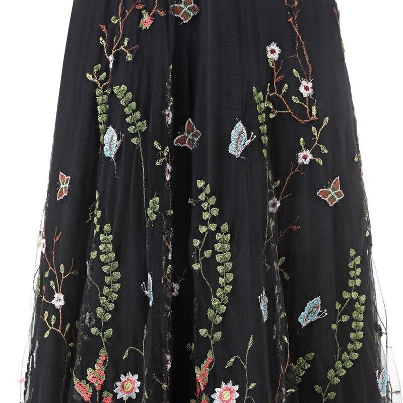 Sunvary Aangepaste Vintage Flower Embroidery Nieuwe avondjurken Tulle - Jurken voor bijzondere gelegenheden - Foto 5