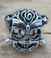Bohemian estilo cigano étnico Maxi os mercenários II Stallone crânio motociclista sorte anel