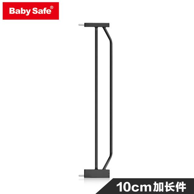 Babysafe puerta de niño alargan negro 10 cm alargue