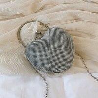 f86706eb5 Crystal Bag Simple Bridal Wedding Purse Shining Cross Body Bag Women Evening  Party Crystal Shoulder Bag