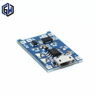 1PCS 5V 1A Micro USB 18650 Lithium Battery Charging Board Charger Module Protection Dual Functions