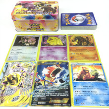 Fy Toy 42PCS/Box Pokemon Cards Game English Anime Pokemon Card Toy For Children Gift Funny Toy With Free Shipping cwjl003