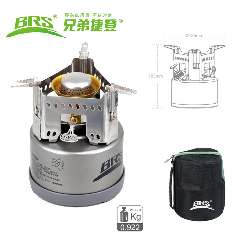 BRS Portable Gasoline Stove Outdoor Camping Gas Stove Hiking Picnic Cooking Burners Compact Thermal Oil Stove Camping Equipment fire maple outdoor gasoline stove burners portable oil