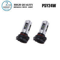Bosmaa 2PCS PSY24W 25W With Chips Free Super Bright Fog Lights Driving Lamp Backup Light Turn