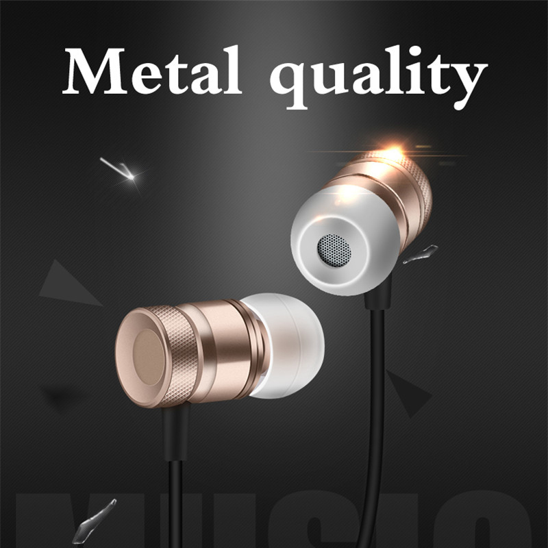 Super Bass Stereo Earphone 3.5mm Jack Headset Hands Free Headphone With Mic Music Earphone For Samsung Iphone Pc #3