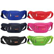 Impermeable bolsos de cintura correr Fanny mujeres cintura Pack bolsa de cinturón  hombres teléfono bolsillo Camping senderismo b. 42fe21cda589