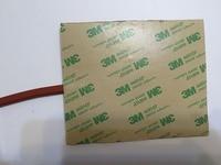 24 v 450 w 400 * 400 mm silicone riscaldamento pad/riscaldatore letto per stampante 3d con 3m nastro electric heater Tool parts