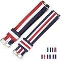1PCS 18 20mm Nylon Watch Band Strap Bracelet for dw Watch Men Women Wrist watch