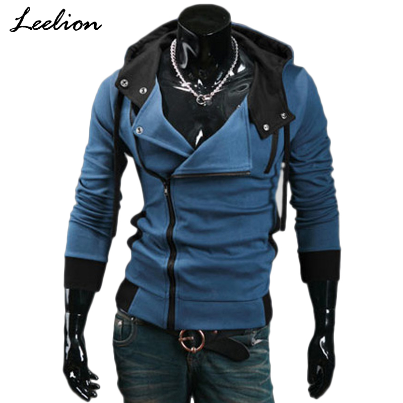 IceLion 2019 Zipper Cardigan Hoodies Men Fashion Hooded Sweatshirts Spring Spring Sportswear Long Sleeve Slim Tracksuit Jacket(China)