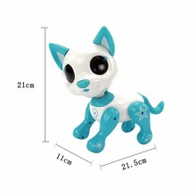 New hot sale interactive intelligent induction electric cute pet dog toy touch machine dance childrens toys