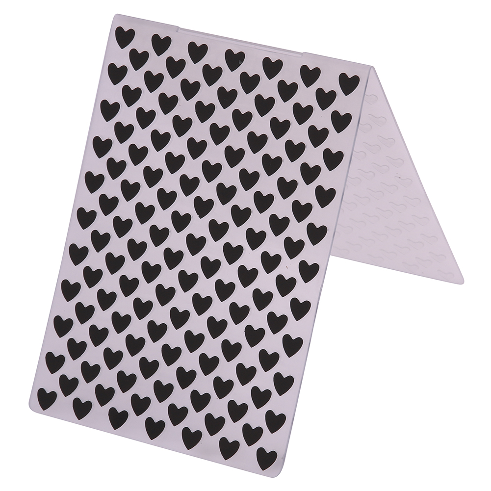 Plastic Embossing Folders Sweet Heart Template for DIY Scrapbooking Paper Card Album Craft Gift Packing Decoration