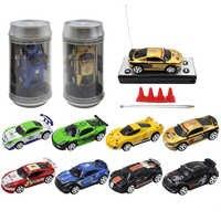 Rc carro 8 cores 20 km/h 1:58 mini carro de controle remoto carro rc micro carro de corrida 2 frequências brinquedo para crianças meninos para 6 anos de idade
