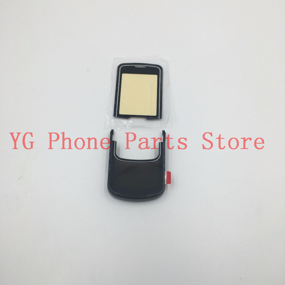 RTBESTOYZ New LCD Front Glass Screen Lens & Keypad Panel Set For Nokia 8600 Luna