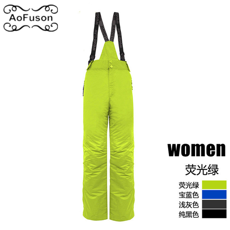 Winter Snowboard Ski Pants Women Windproof Waterproof Sport Keep Warm Female Trousers Camping Riding Skiing Snow