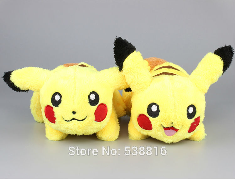 Anime  Monster Cute Pikachu Plush Toy Dolls Pikachu Stuffed Animals Soft Toys Kids Gift 12 30 CM 5pcs lot pikachu plush toys 14cm pokemon go pikachu plush toy doll soft stuffed animals toys brinquedos gifts for kids children