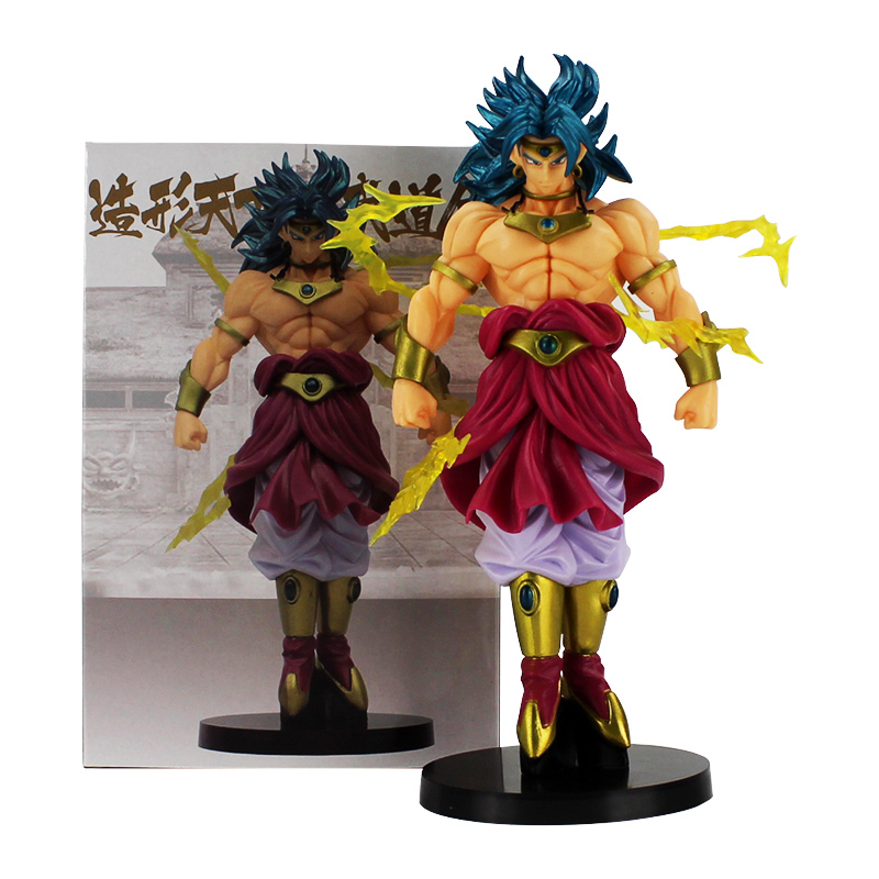 Dragon Ball Z SCultures Super Saiyan Broly Figure Budokai Tenkaichi 7 Toy In Box