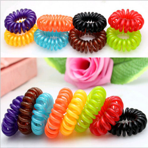 Brilliant Popular Spiral Hair Tie Buy Cheap Spiral Hair Tie Lots From China Hairstyles For Men Maxibearus