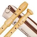 Madera f barroco alto grabadora 8 agujeros Clarinetes estilo inglés Flautas Profissional madera Instrumentos musicales