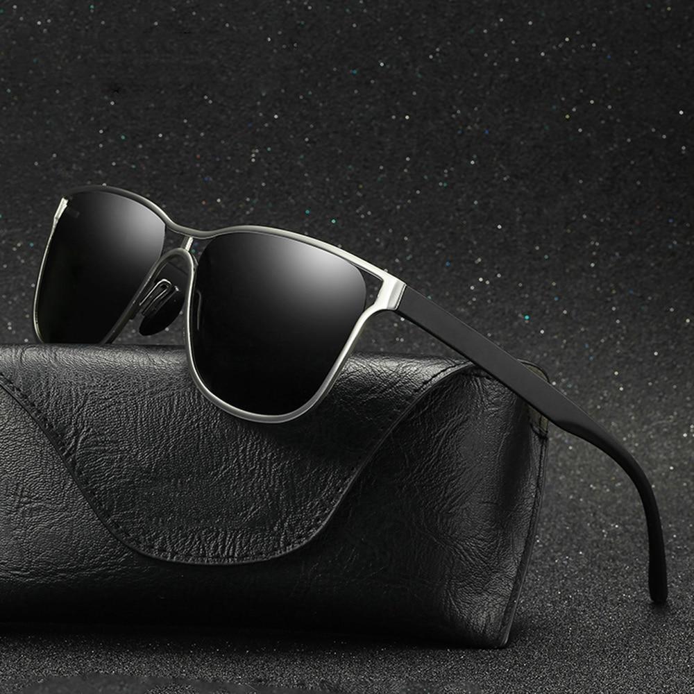 new sunglasses men polarized alloy metal sun glasses for male fashion high quality driving eyewear vintage gafas de sol hombres