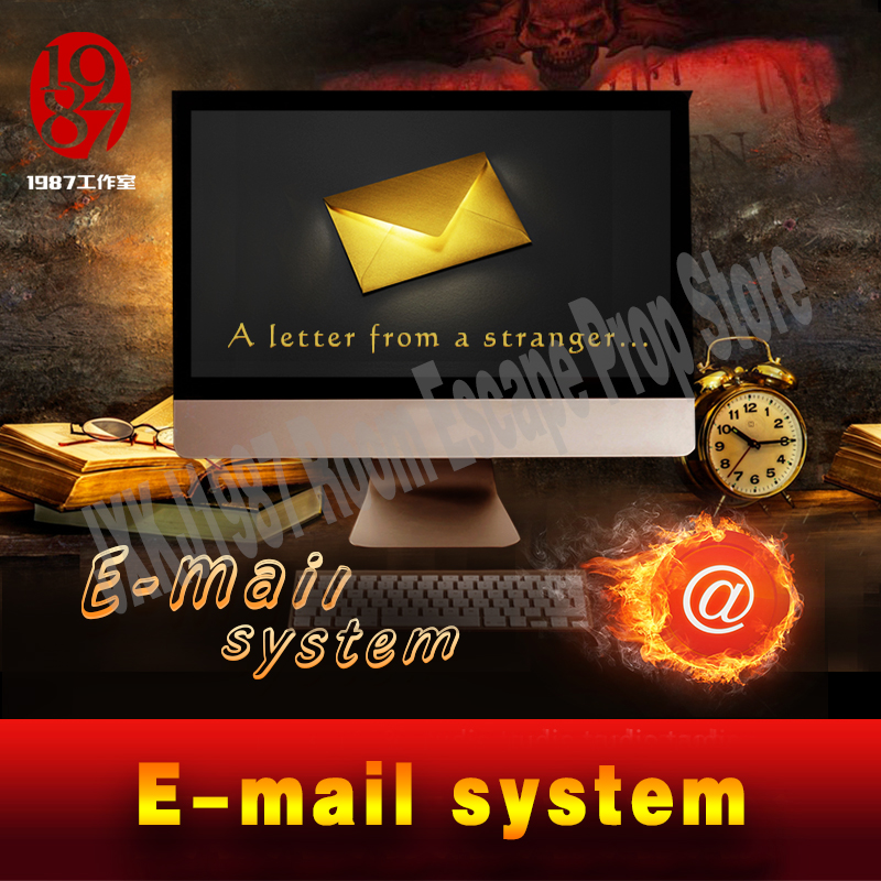 цена real life room escape game prop e-mail system enter right password via computer to unlock and get email clues jxkj1987 chamber онлайн в 2017 году