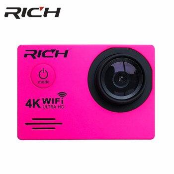 "Cámara de Acción rica DV7000/SJ7000R WiFi Ultra HD 4K sumergible 30M cámara de deportes al aire libre 2,0 ""LCD 1080p 60fps Cámara"