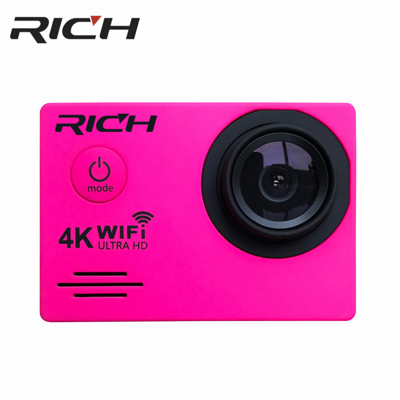 "100% Wahr Reiche Dv7000/sj7000r Action Kamera Wifi Ultra Hd 4 Karat Unterwasser 30 Mt Outdoor Sports Kamera 2,0 ""lcd 1080 P 60fps Kamera"