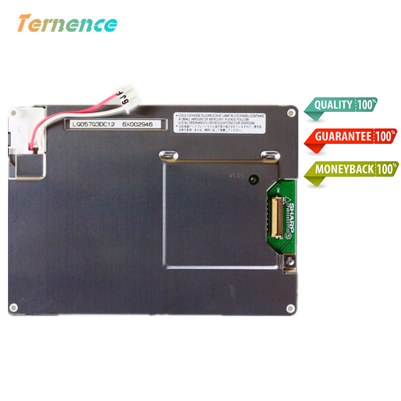Skylarpu Original 5.7inch LCD screen LQ057Q3DC12 LQ057Q3DC17 LQ057Q3DC02 LCD display screen digitizer Replacement Free shipping free shipping 10pcs cm601 chip lcd screen