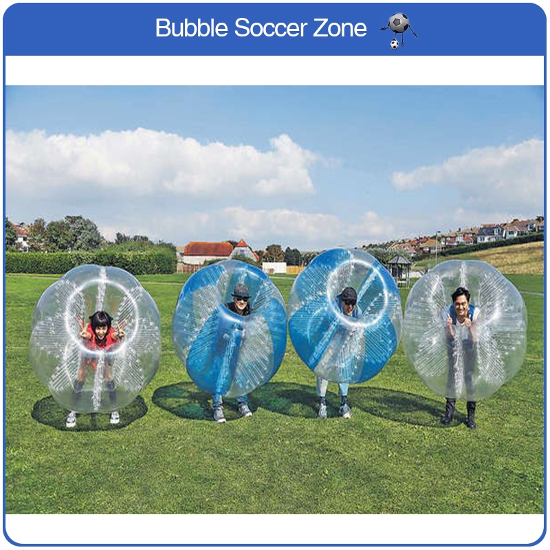 Free Shipping Air Bubble Soccer Ball 0.8mmPVC 1.5m Inflatable Bumper Ball Body Zorb Ball Bubble Football Bubble Soccer Zorb Ball