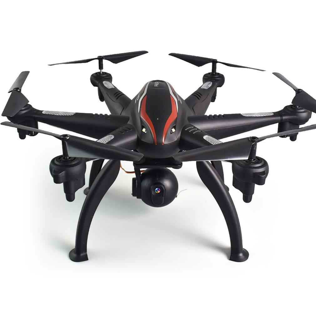 Double GPS Drone 6-Axe 4CH 1080 P Grand Angle 5G WiFi FPV Drone rc Drone Avion 180'Adjustable Caméra télécommande