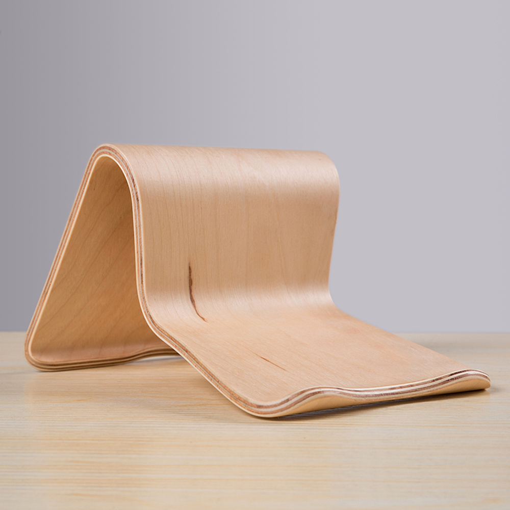 bilder für Moderne Elegante Birke Holzständer Holz Handyhalter Rack Bracket langlebig für iPhone 7 6 S Apple iPad Mini Air PC Tablets Phones