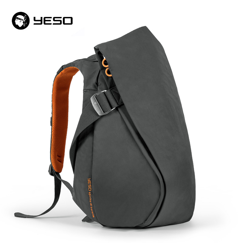 Yeso New Laptop Backpack 14inch 15.6 Inch Irregular Anti Theft Backpack Multifunctional Waterproof Oxford Unisex Travel Backpack
