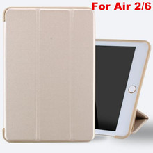 YWEWBJH For iPad Air 2 Case Silicone Soft Back Folio Stand with Auto Sleep Wake Up PU Leather Smart Cover for