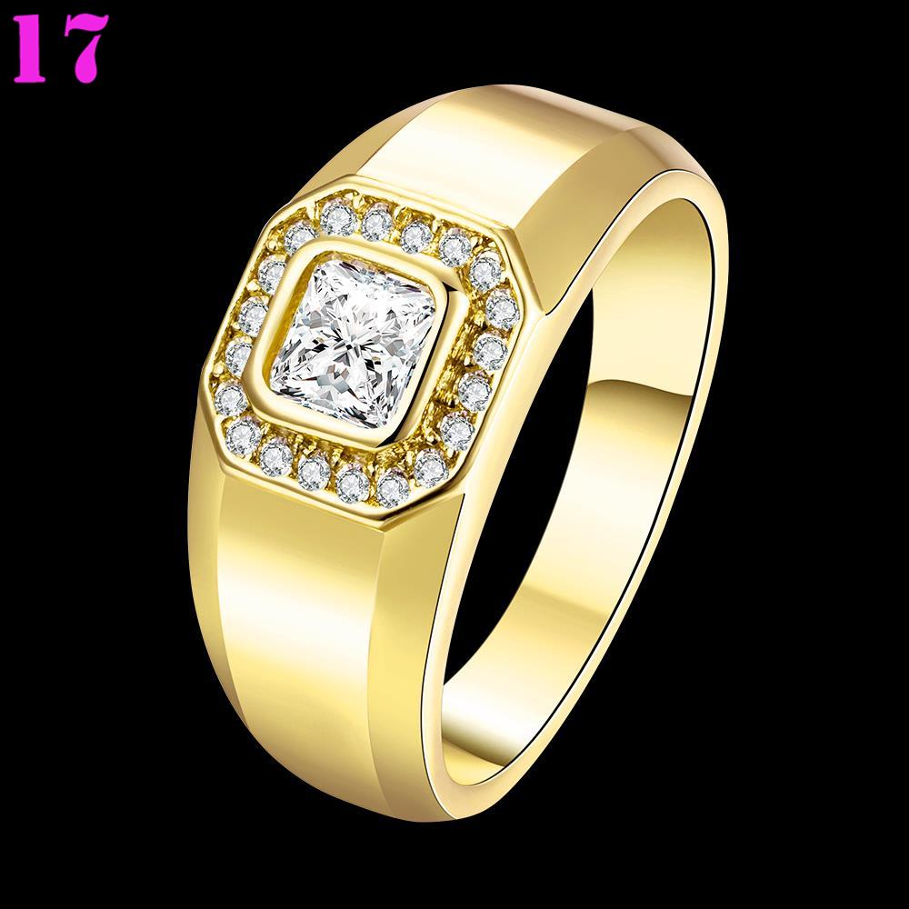 Stylish Luxury Male Gold Plated Square Cz Wedding Rings Vintage Ring Men In From Jewelry Accessories On Aliexpress Alibaba Group