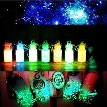 1 Set 8pcs Fluorescent Powder DIY Bright Nail Art Glow In The Dark Sand Powder Pigment Dust Luminous Nail Glitter 8 Colors/Set free choose colors super bright luminous powder phosphor pigment coating diy decoration material glow in dark powder pigment