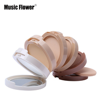Netural Makeup Pressed Powder Palette 5 Colors Kit Concealing Shading Powder Flawless Foundation Base Face Makeup