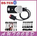 Envío Libre de DHL 2014. R2 con Activador Herramienta Diagnóstico TCS CDP Favorable Con El Bluetooth (DOS PCB) además de Todos Los Cables 16 UNIDS (coches y Camiones)