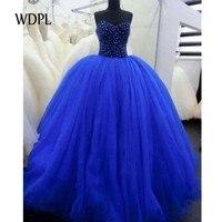 Vestido de novia голубое вечернее платье пышное платье вечернее платье с открытыми плечами длинное строгое платье с бусинами abiye 2019