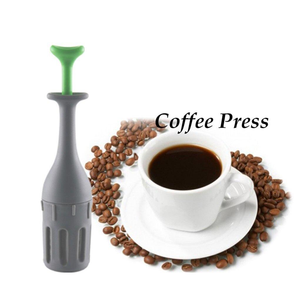 KCASA KC-SC323 Coffee Filter Basket Tea Infuser Gadget Measure Swirl Steep Stir And Press Food Grade For Kitchen Coffee Tools